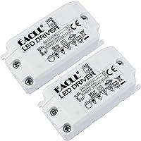 EACLL Transformador LED AC 240V a DC 12V 850mA 10W, Para drive de Menos de 10W MR11 G4 MR16 GU5.3 Bombillas LED y Tiras…