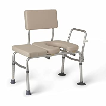 Amazon.com: Medline G98013A Padded Transfer Benches: Health ...