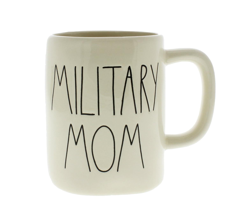 Rae Dunn by Magenta MILITARY MOM Ceramic LL Coffee Mug