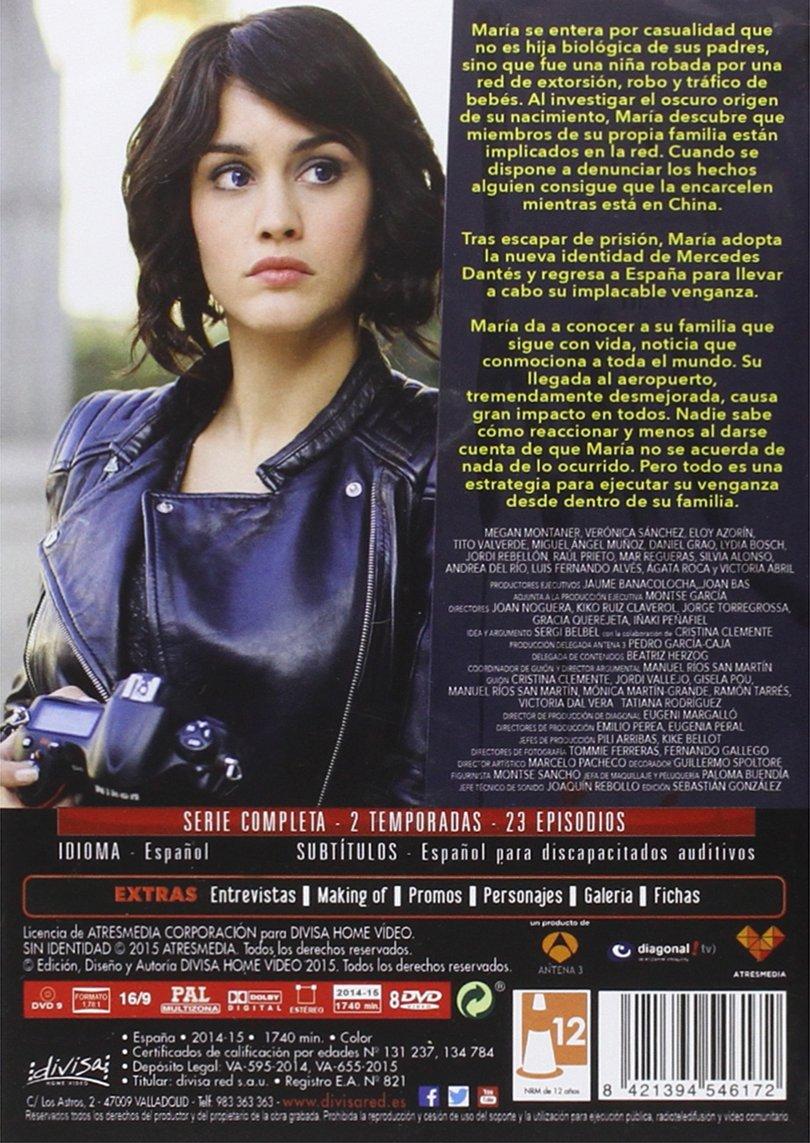 Sin Identidad - Serie Completa (Region 2): Amazon.co.uk: Megan ...