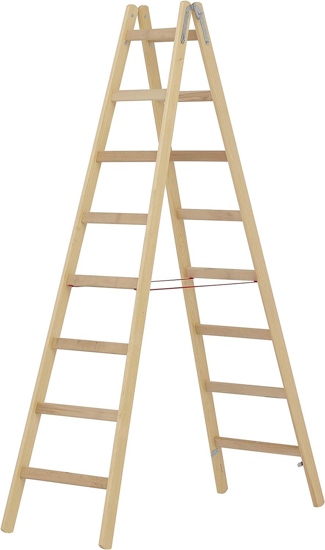 Holzleiter 8 Sprossen