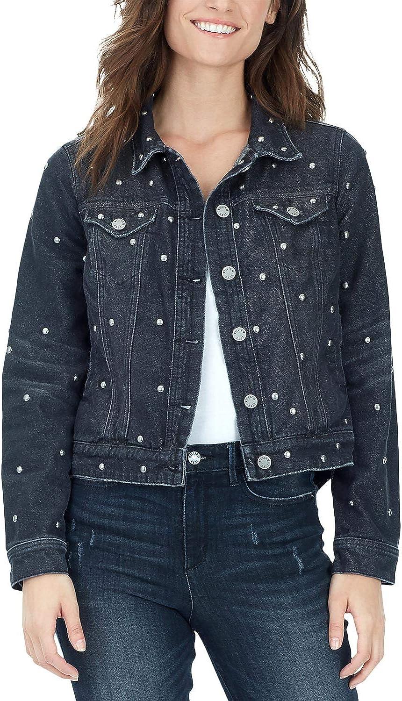 William Rast womens Tammi High Low Jean Jacket