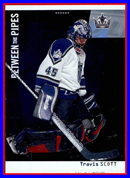 on sale 3f547 c8b0e 2002-03 Between the Pipes #37 Travis Scott LOS ANGELES KINGS ...