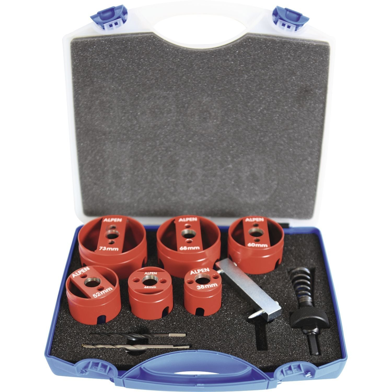 Alpen 79000021100 Hole Cutters Hm 11 Pcs
