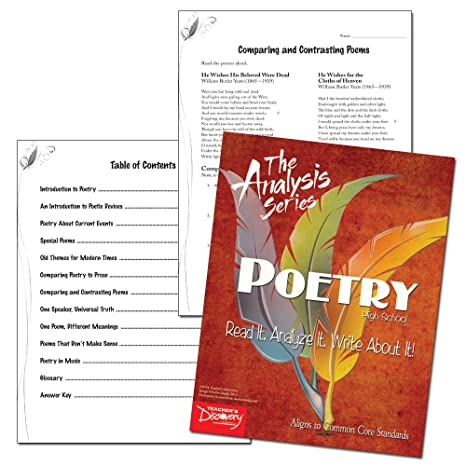 amazoncom  the analysis series poetry reading  writing