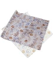 Envoltorio de papel encerado antiadherente PsmGoods®, para pasteles o pan, 100 unidades