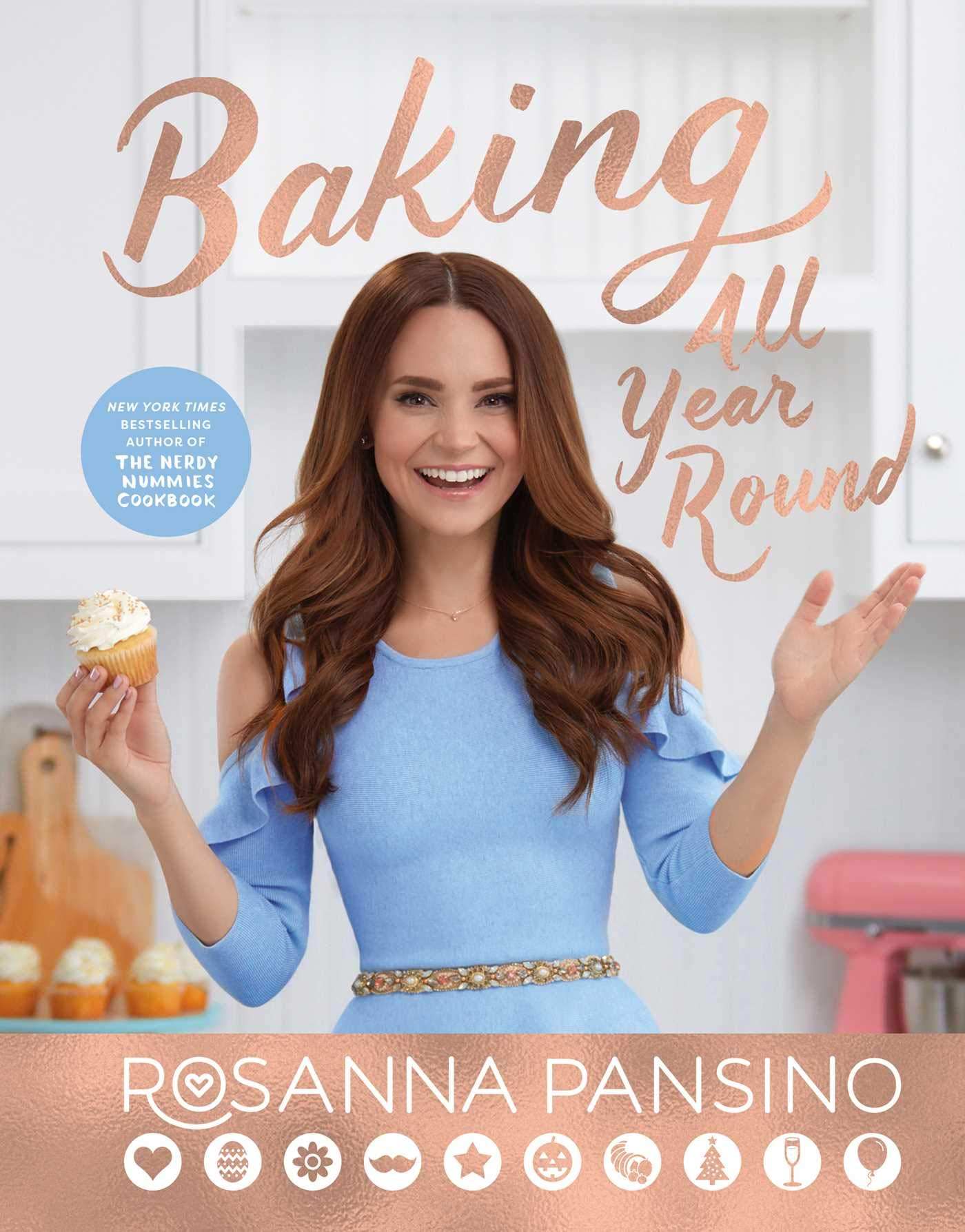 Image result for rosanna pansino baking all year round