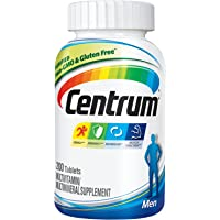 200-Count Centrum Men Multivitamin Supplement Tablet