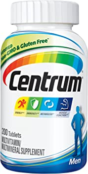 200-Count Centrum Men Multivitamin Supplement Tablet