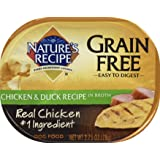 Nature's Recipe Easy to Digest Wet Dog Food, Chicken & Duck in Broth Recipe, 2.75 Ounce Cup, Grain Free