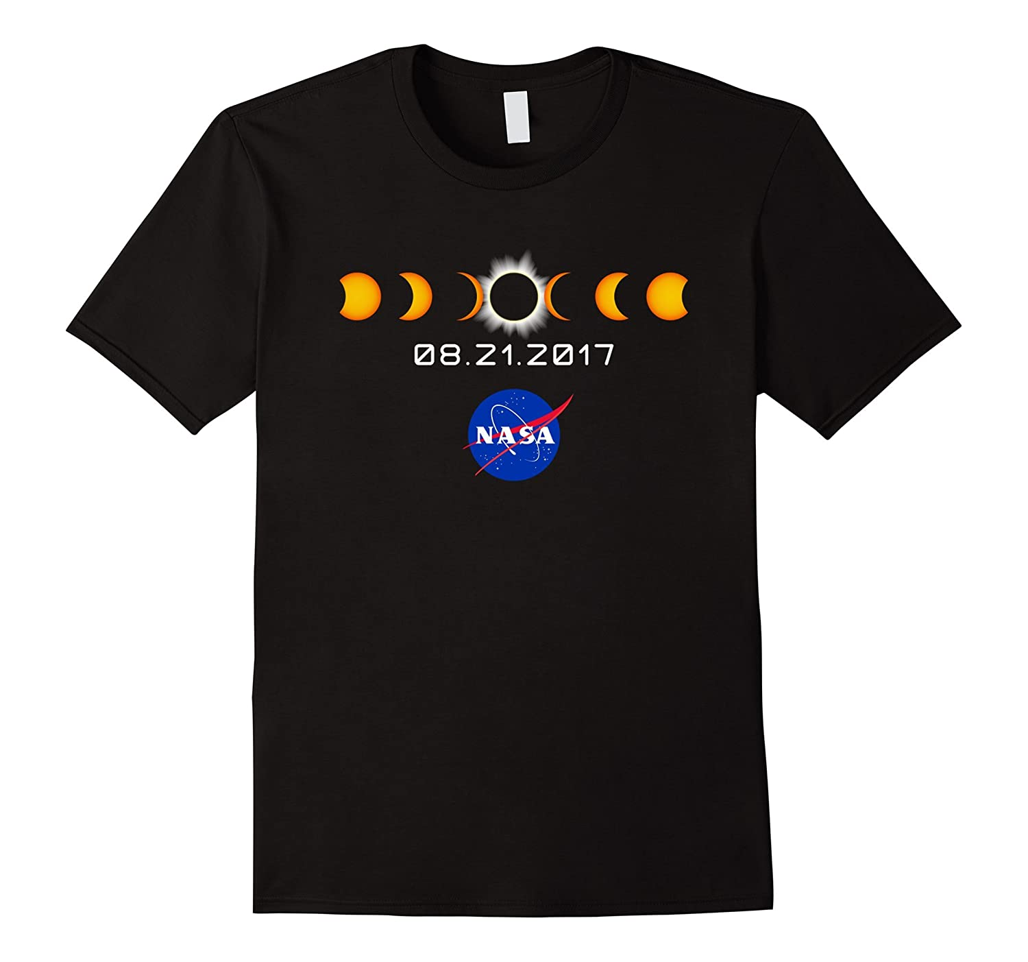 NASA Total Solar Eclipse August 21 2017 T-Shirt-PL