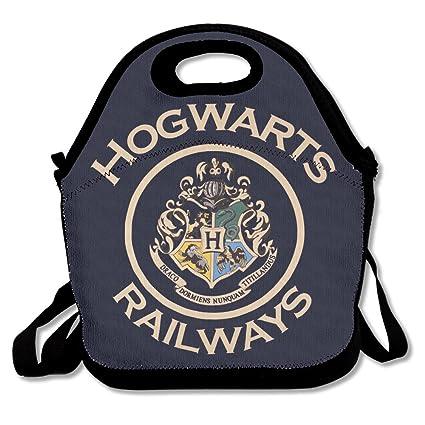 Harry Potter Hogwarts Railways Colorful Bolsa para el almuerzo caja de almuerzo
