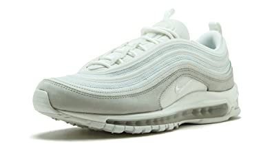 New Fashion NIKE AIR MAX 97 Men's Running Sports Shoes White Black 312834 100
