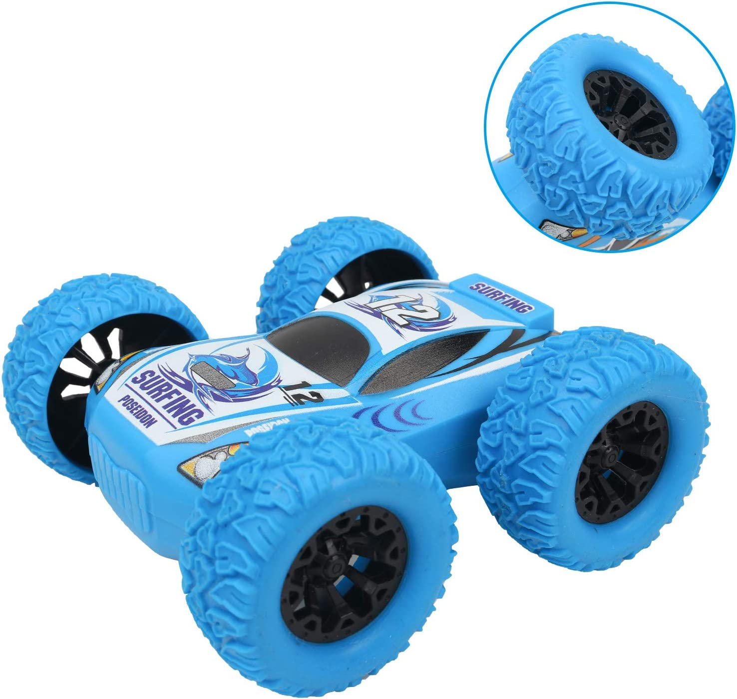Birthday Party Favors for Kids Boy Gifts for 3 4 5 6 7 8 9 10 Year Old Boys Baby Car Push and Go Toy Cars for Toddlers Kids 2 Pack Friction Powered Car Toys