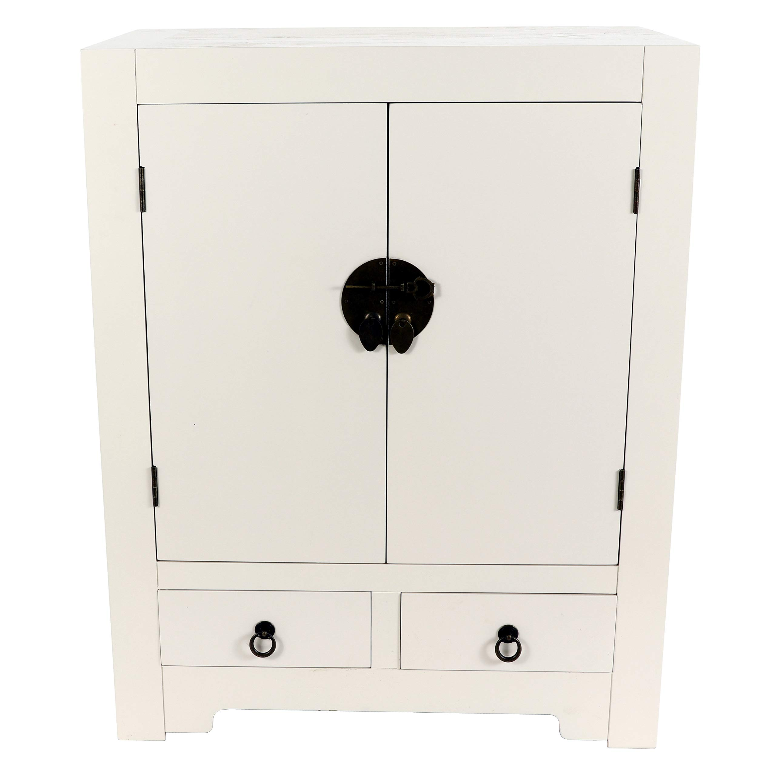 Decor Therapy FR8708 Accent Cabinet, White