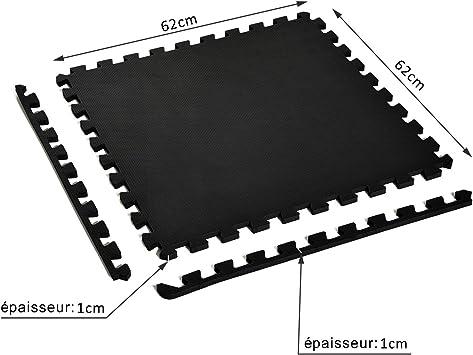 antid/érapant pour mur et cuisine Rouge Lot de 10 tapis de sol en c/éramique avec mosa/ïque hexagonale
