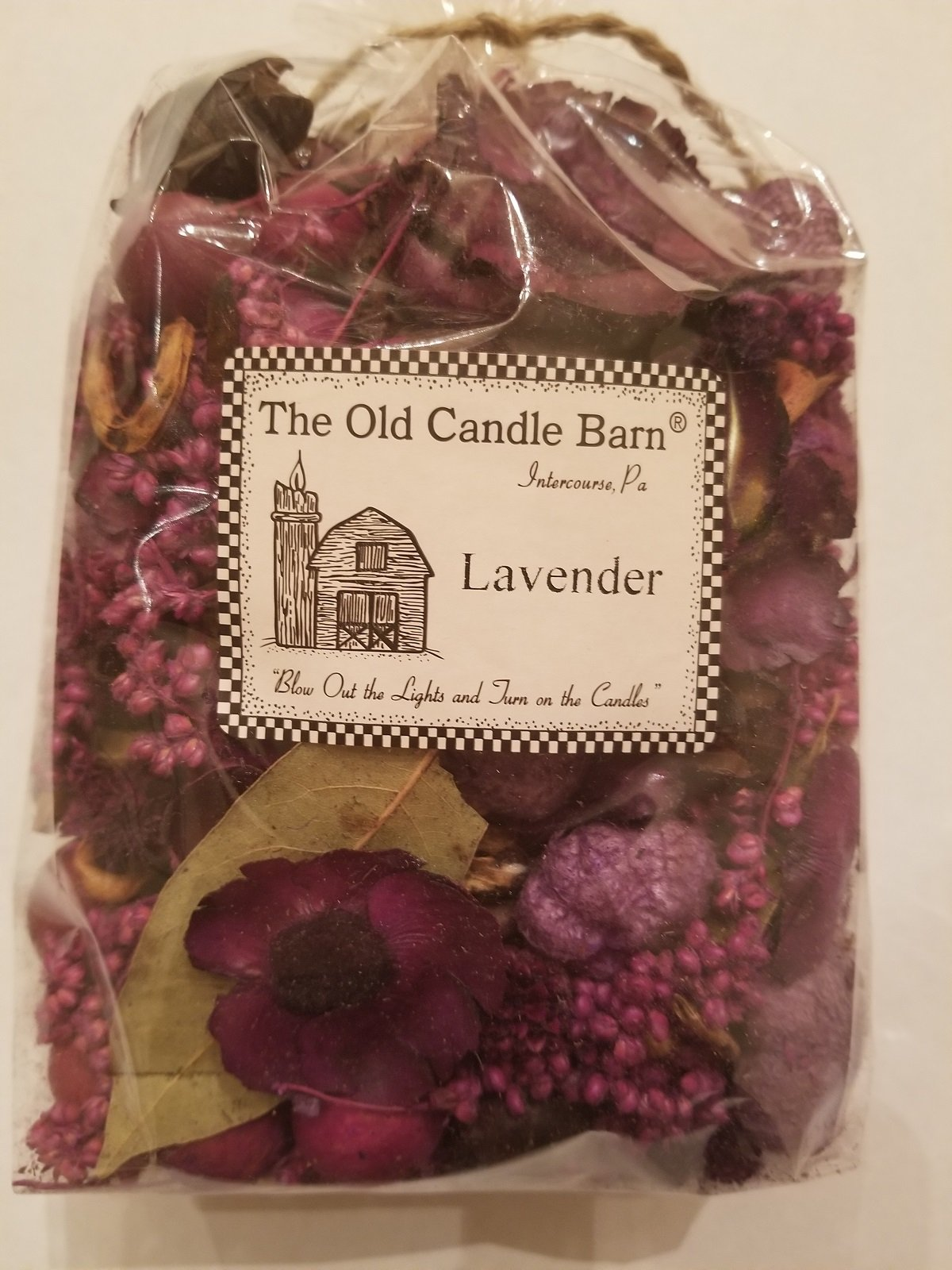 Old Candle Barn Lavender Potpourri Large Bag - Perfect for Spring and Summer But Can Be Used All Year Long - Decoration or Bowl Filler by Old Candle Barn (Image #1)