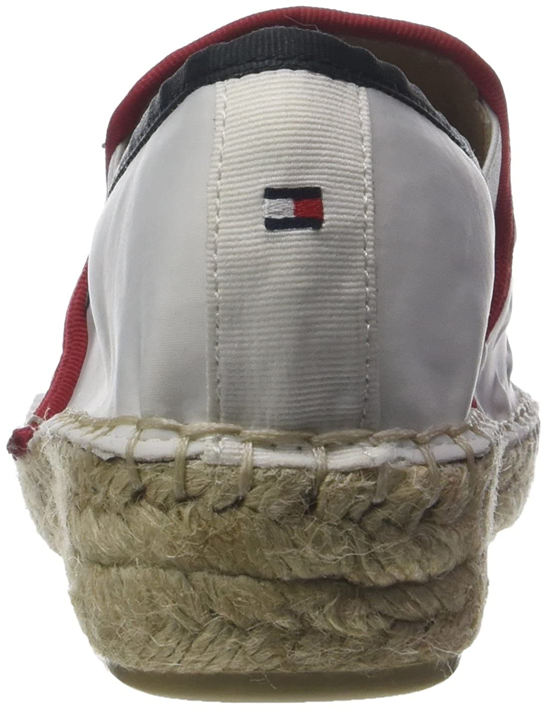 Tommy Hilfiger Damen Corporate (Rwb Slip on Espadrille Weiß (Rwb Corporate 020) aecdc1