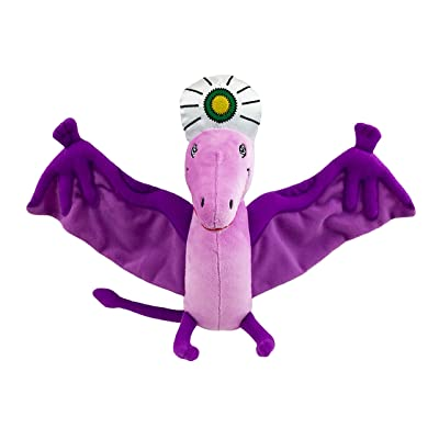 MerryMakers P is for Pterodactyl Soft Plush Pterodactyl Dinosaur Stuffed Toy, 8.5-Inch, from Raj Haldar's P is for Pterodactyl's Book: Toys & Games