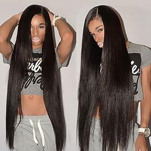 CYNOSURE Brazilian Hair 3 Bundles 9A Virgin Unprocessed Straight Human Hair 18 20 22inches Brazilian Straight Hair
