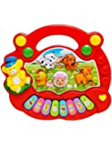 Forever Kidzz Baby Farm Animal Piano with Real Animal Sound, Piano Sound ,LED Flash Light ( Design & Color As Per Availability )