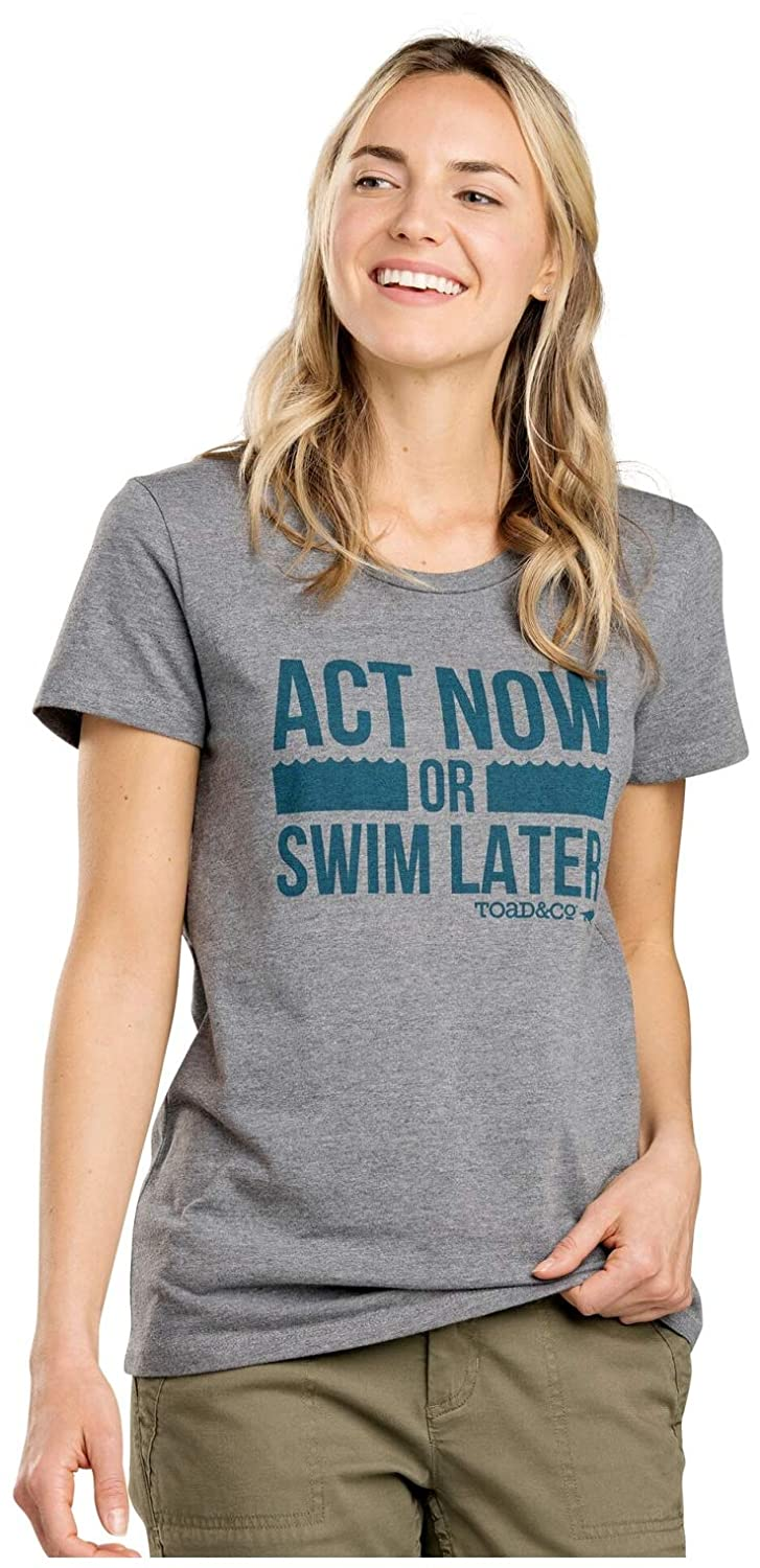 Toad/&Co Act Now SS Tee Womens