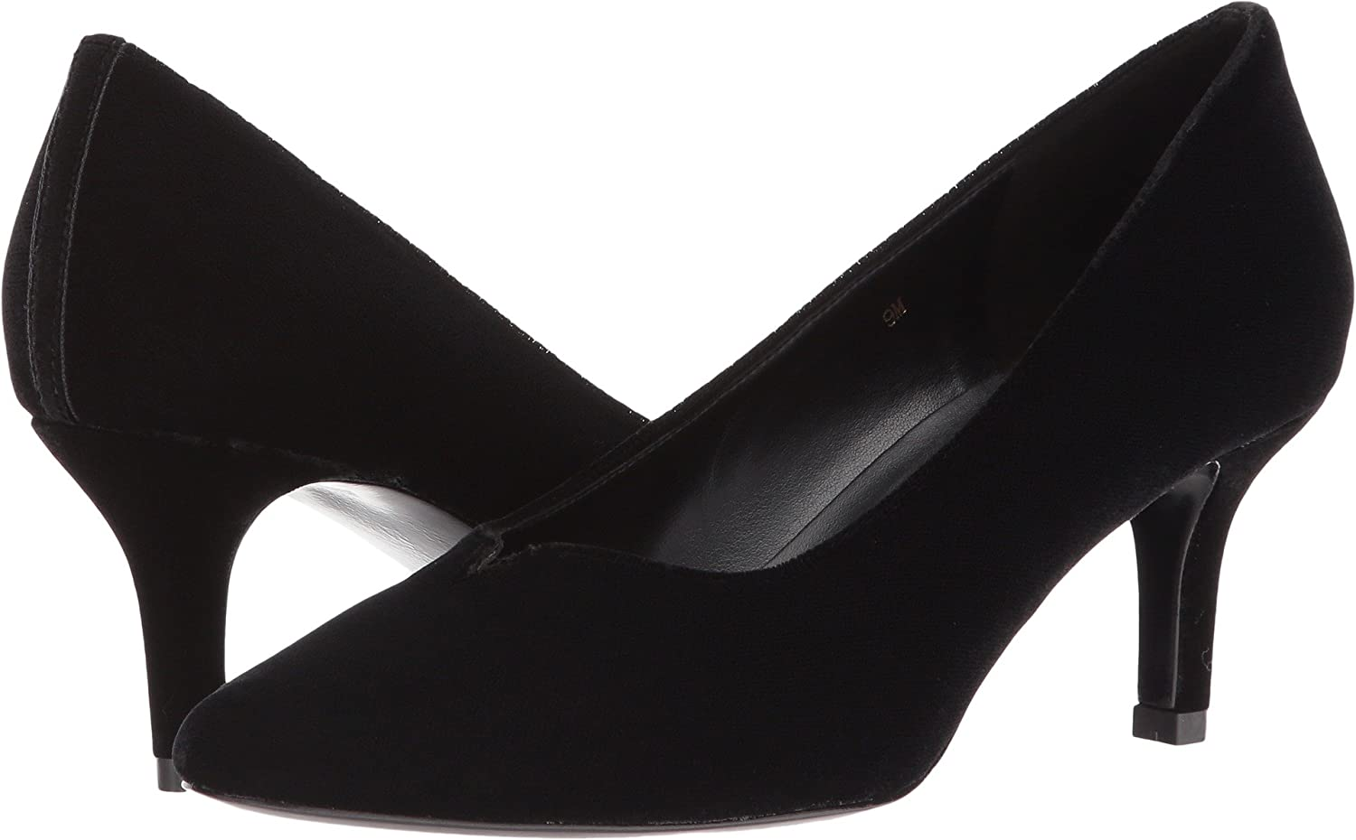 VANELi Women's Linden Pumps Shoes B01MS1RYHN 9.5 AA US|Black Velvet