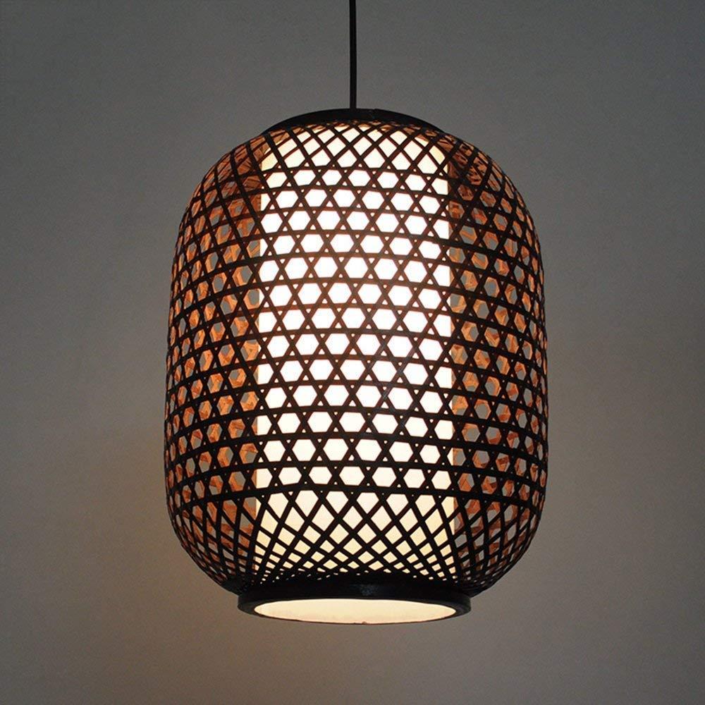 FuweiEncore Der Bambus Laterne Kronleuchter in Südostasien Lounge Restaurant Spaziergang Kronleuchter - Beleuchtung Objekte der Dekoration Lichter (Größe  28 M) (Farbe   35cm)