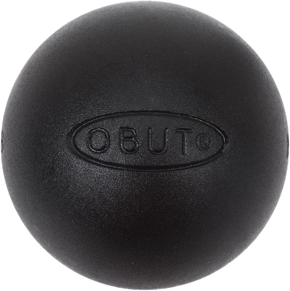 Obut - Rcc Plus 74mm - Boules de pétanque Noir