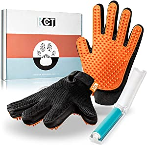 KCT Pet Care Grooming Gloves