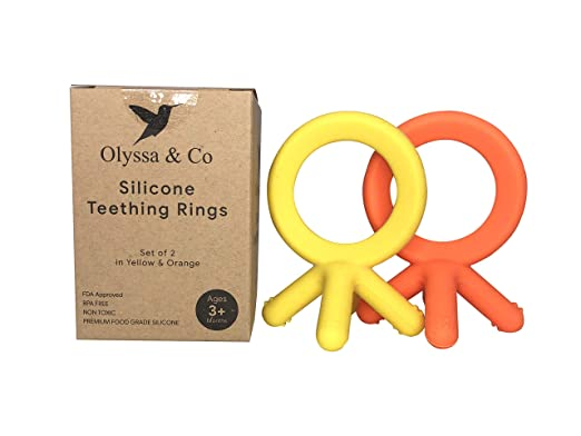 Amazon.com: Olyssa & Co Silicone Teether: Baby