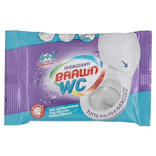Fria Brawn Sos Wc Toallita Antibacteriana Biodegradable 8 Uds - 5 ...