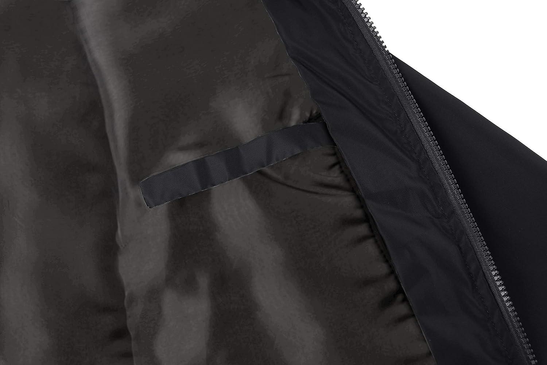 Wantdo Mens Lightweight Bomber Jacket Spring Windbreaker Casual Zip Outerwear