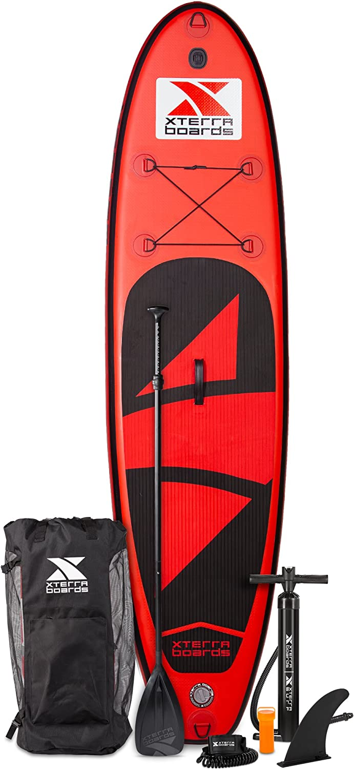 Amazon.com: Xterra hinchable 10 Stand Up Paddle Board SUP ...
