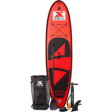 buy XTERRA Boards Inflatable 10' Stand Up Paddle Board Premium SUP Bundle