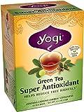 Yogi Teas Super Antioxidant Green Tea, 16 Count (Pack of 6)