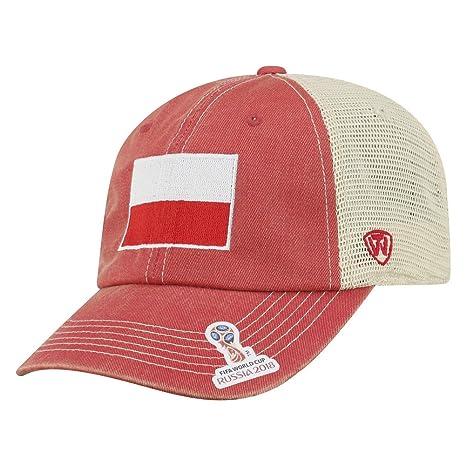 46bb0ef549c Elite Fan Shop Poland 2018 World Cup Hat Mesh Back - Adjustable - Red
