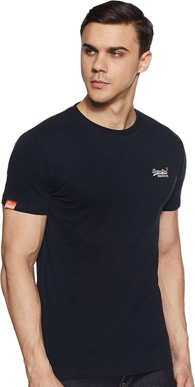 Superdry Orange Label Vntge Emb S/S tee Camiseta de Tirantes para Hombre