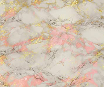 Amazon Com Rose And Gold Marble Background Glossy Effect