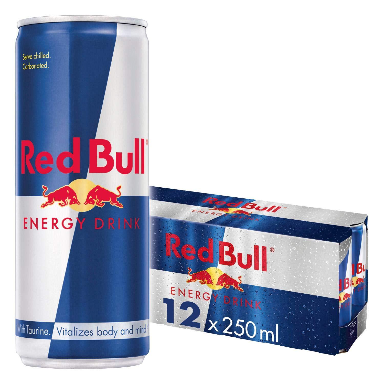 Red Bull Energy Drink 12 x 250 ml Dosen Getränke 12er Palette ...