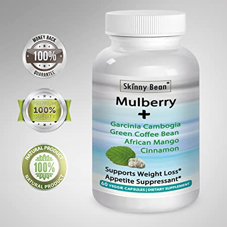 .- STRONG -. White Mulberry PLUS Garcinia, African Mango, Cinnamon, Green tea Extract