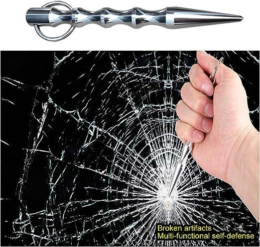 puple Cool Stick Self Defense Weapon for Women Anti Wolf Cuba Accessories Rotin Key Stick Black 1