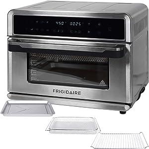FRIGIDAIRE EAFO109-SS 27-Quart Digital Air Fryer Oven, Stainless, 27qt
