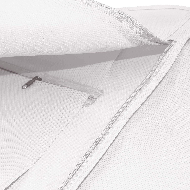 Hangerworld - Funda para Vestido de Novia (183 cm), Color Blanco