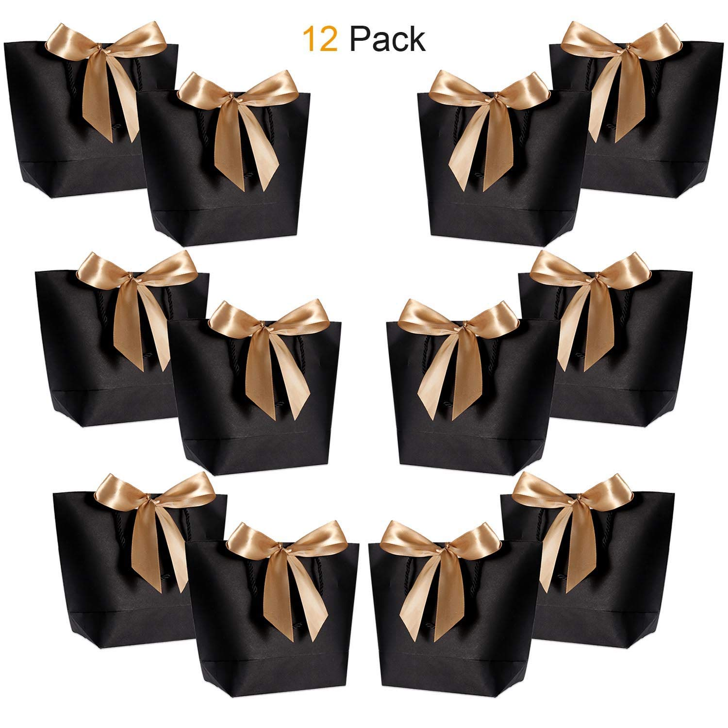 Amazon Com Gift Bags With Handles Wantgor 14 17x10 24x4