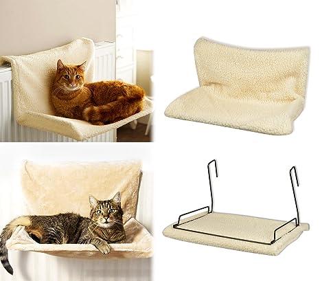 MEDIA WAVE store 29450 Cama para Colocar en radiador Mod.Felina para Gatos Extraible y
