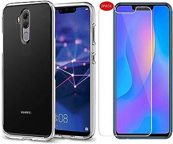 MYLBOO Funda Huawei Mate 20 Lite con Protector de Pantalla, [3 en ...