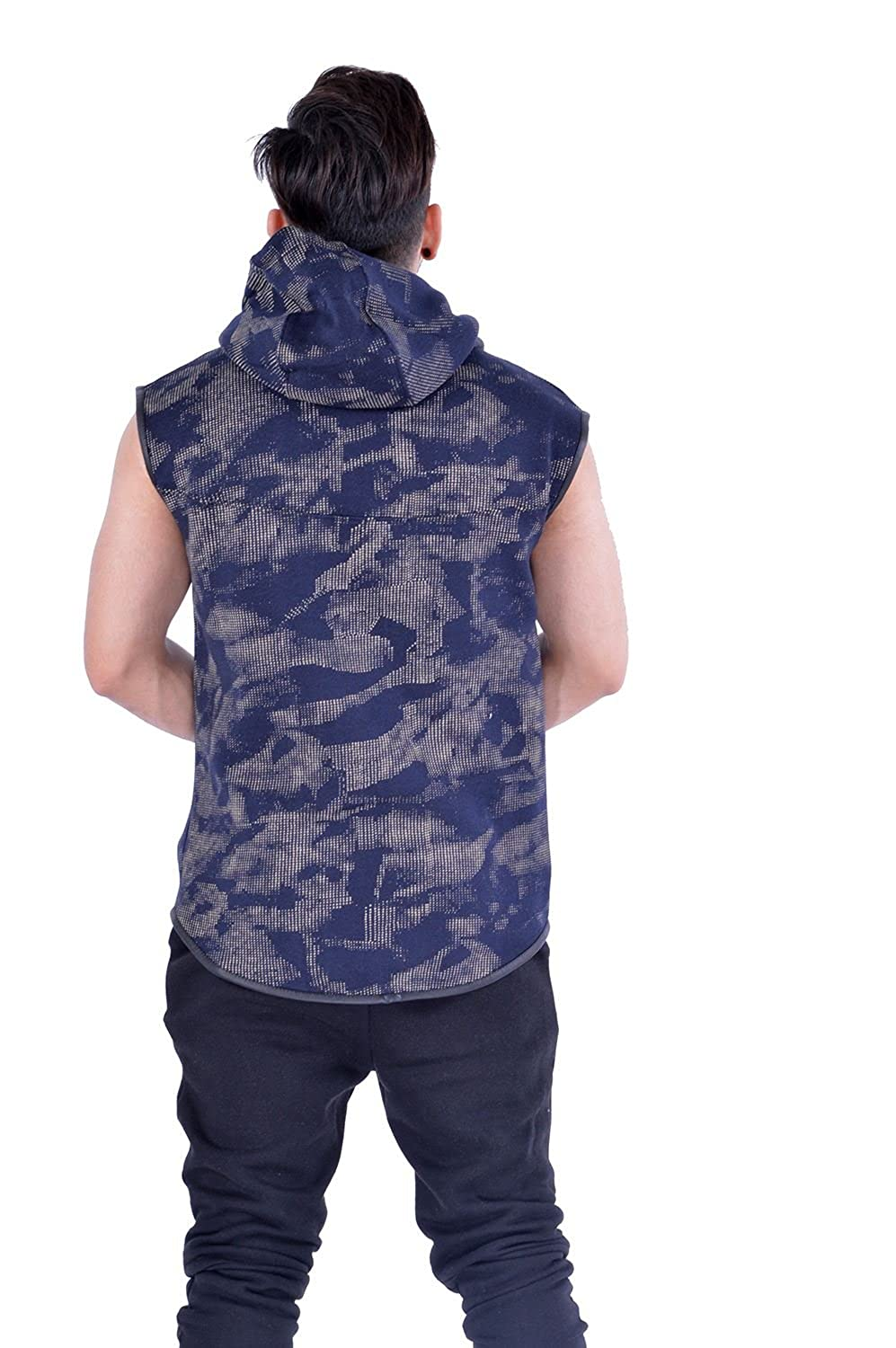 Men's Camouflage Printed Gilet Fleece Bodywarmer MMT