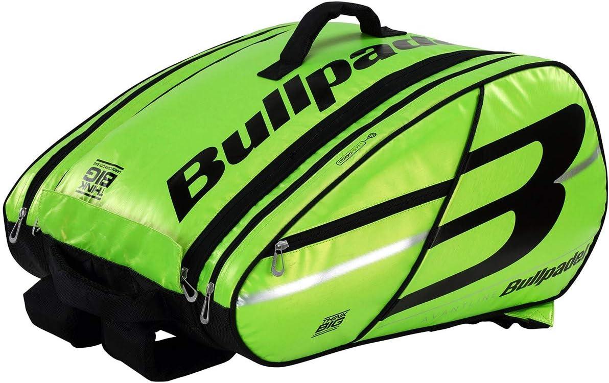 Bullpadel Paletero BPP19005 Big Capacity 2019 Verde, Adultos Unisex, Multicolor, Talla Unica
