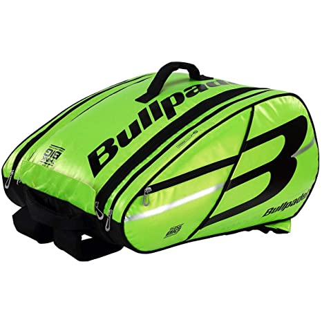 Bullpadel Paletero BPP19005 Big Capacity 2019 Verde, Adultos Unisex, Multicolor, Talla Unica